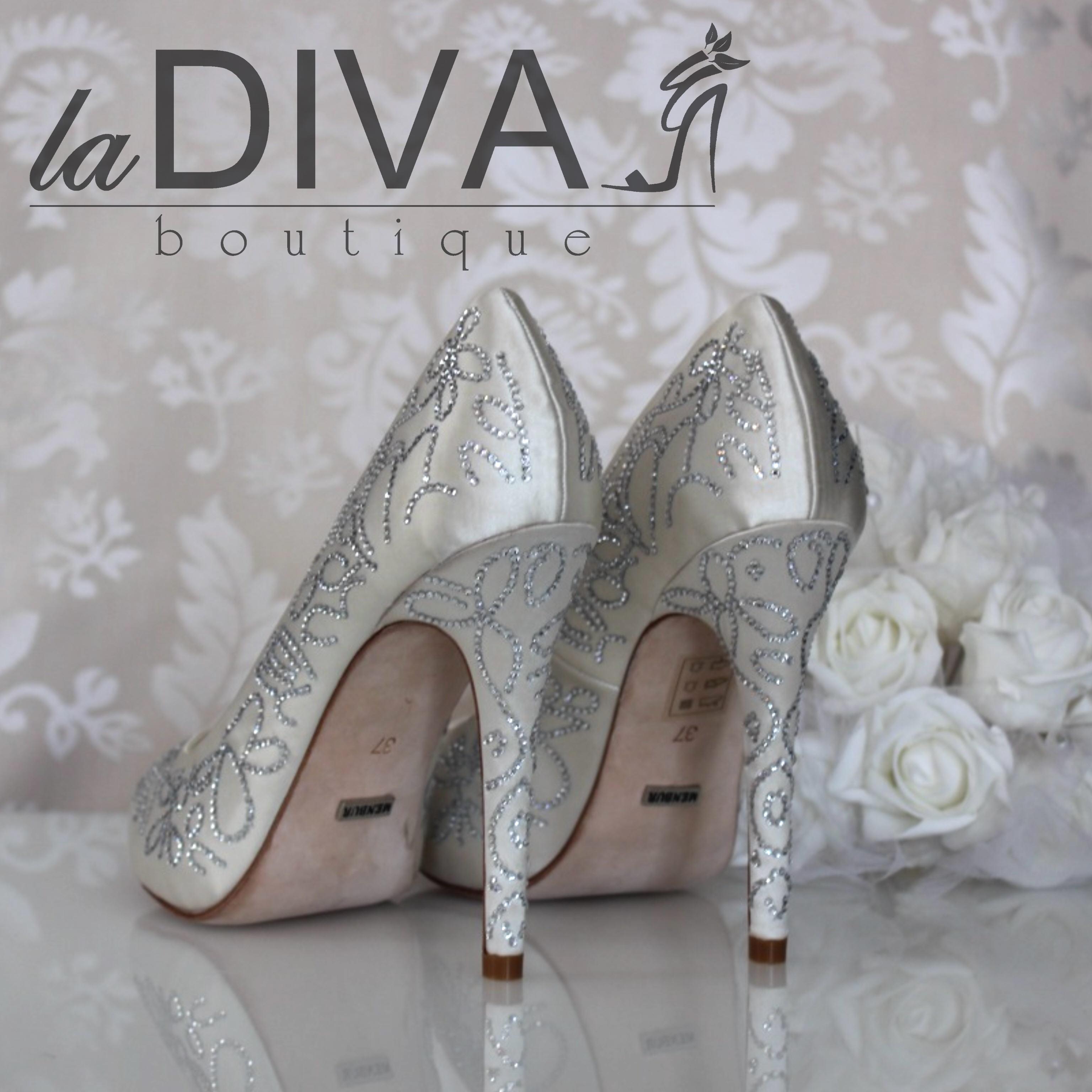 menbur wedding strass peep toe pumps brautschuhe ivory. Black Bedroom Furniture Sets. Home Design Ideas