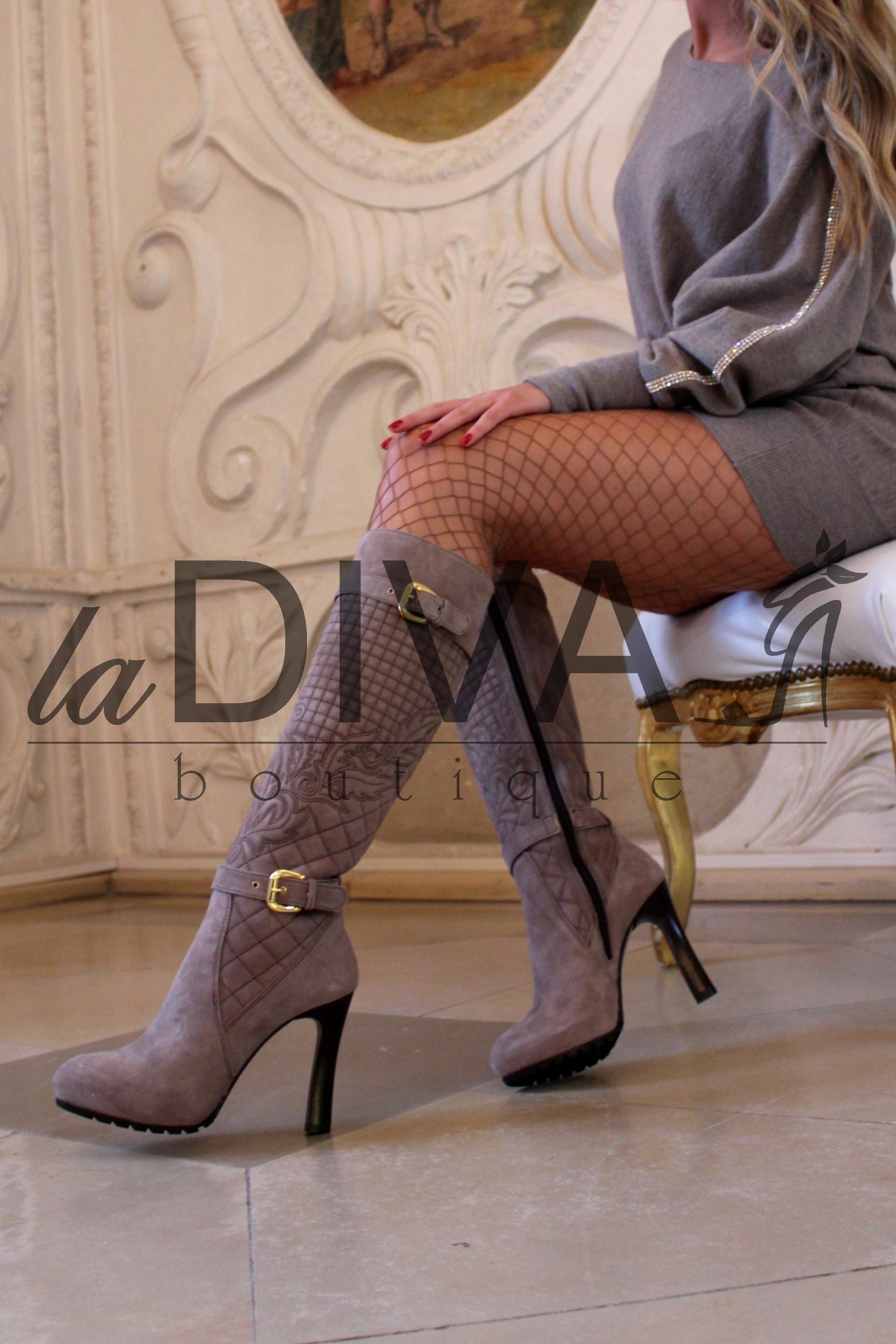 napoleoni italy designer leder stiefel 39 camel beige. Black Bedroom Furniture Sets. Home Design Ideas